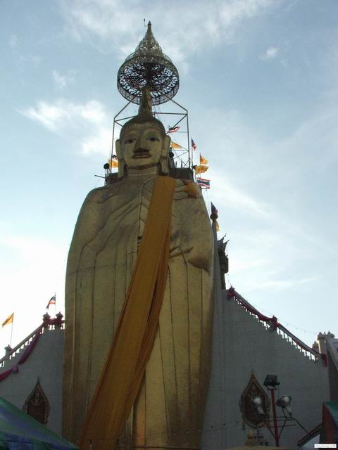 The Standing Buddha statue