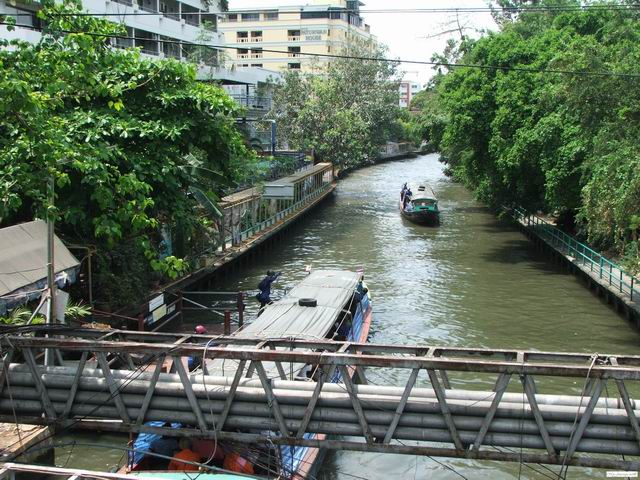 River transportation in Bangkok