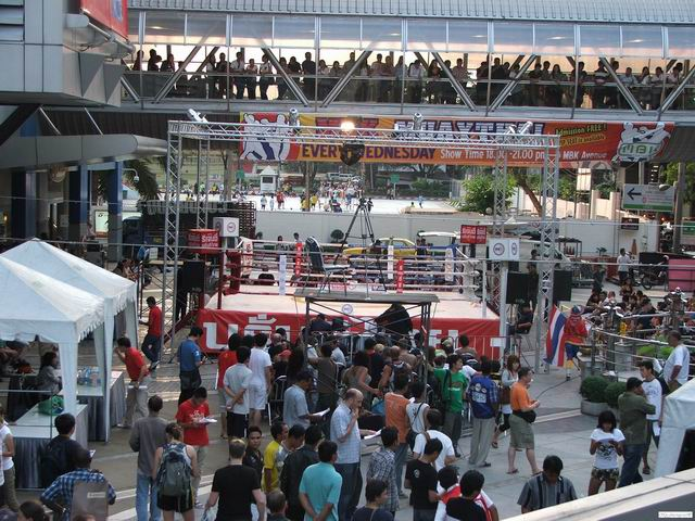 Muay Thai ring