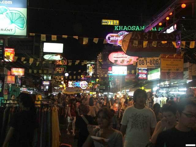 KhaoSan street - Bagkok