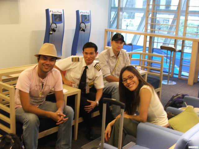 Bangkok Airlines boarding hall
