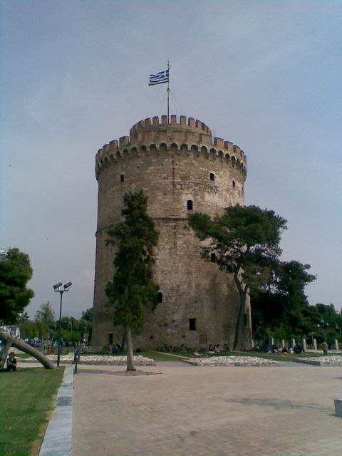 The white tower, Thessaloniki