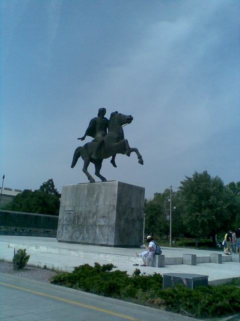 The Statue of Alexander The Great