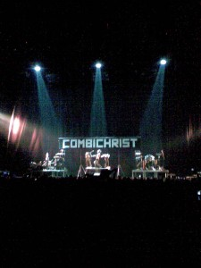 Combichrist performance at Beogradska Arena